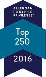 allergan top 250